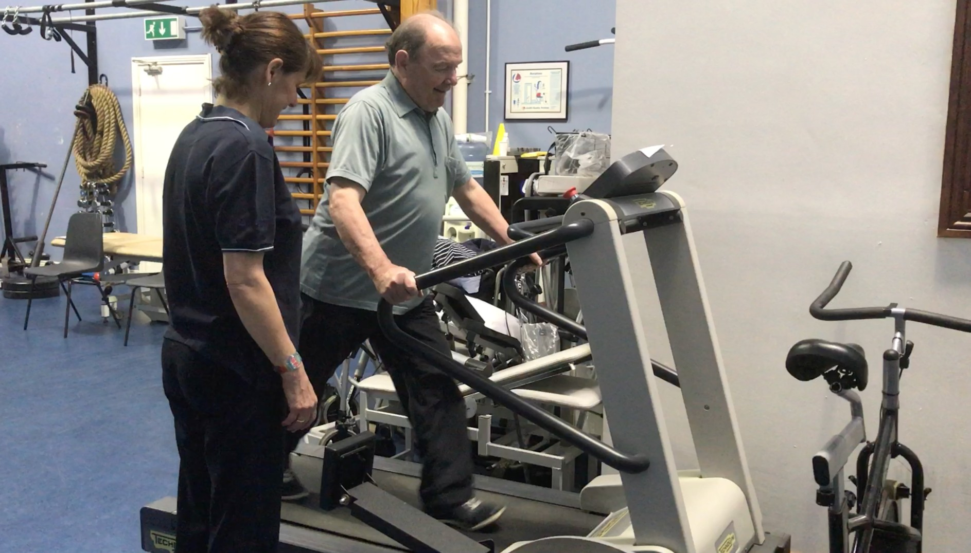 Parkinsons disease exercise treadmill